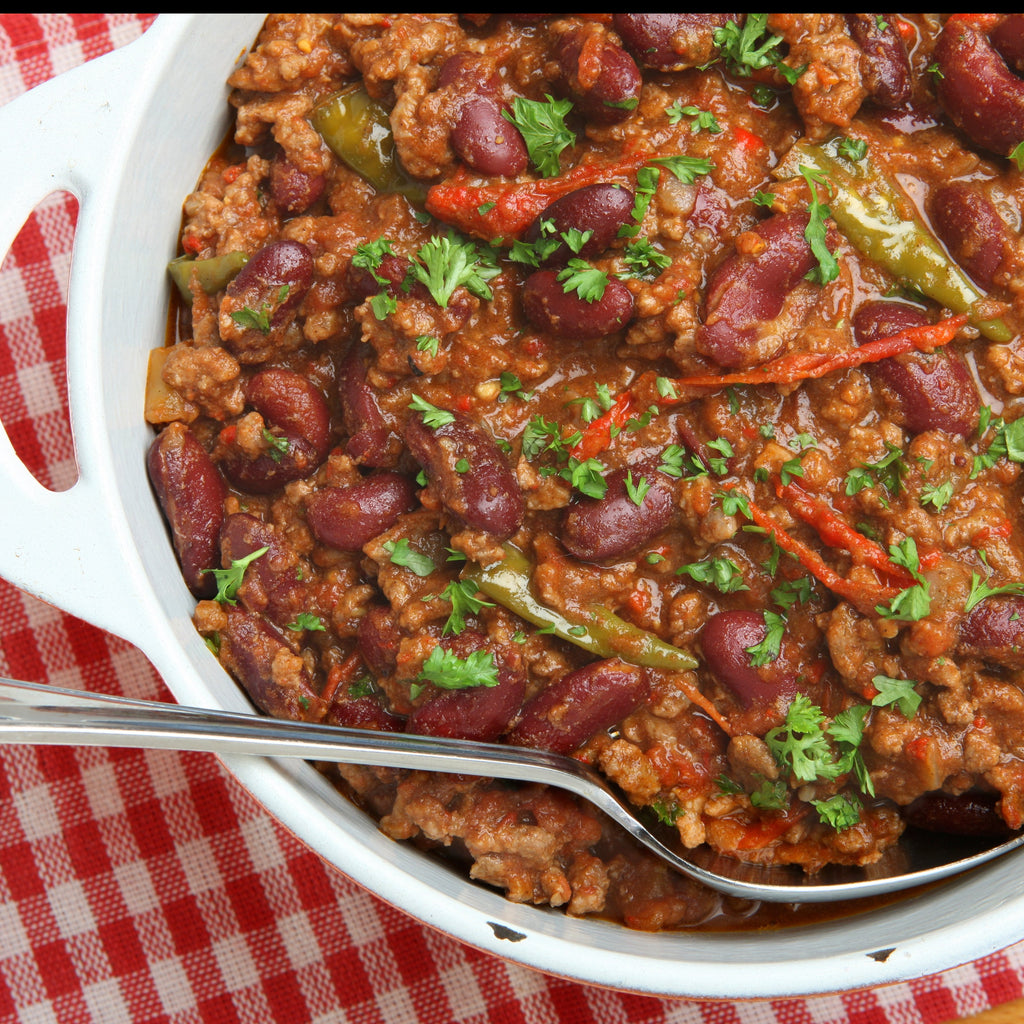 3 Bean Beefy Chilli - Real Meals