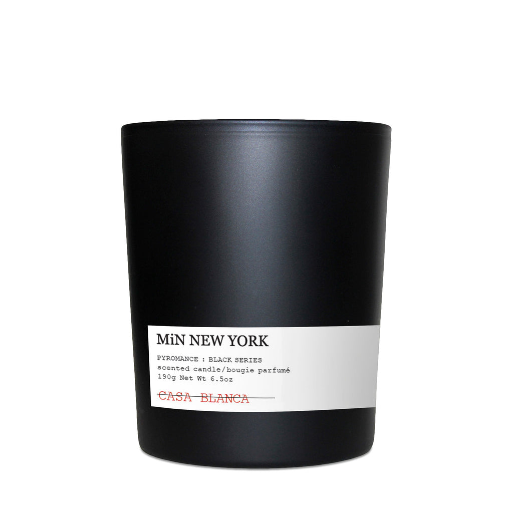 MiN New York PYROMANCE Candles Black Series