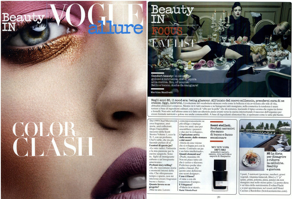 MiN New York Vogue Italia Scent Stories