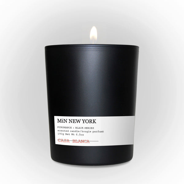 MiN New York Pyromance Black Series Casa Blanca Candle Chad Murawczyk