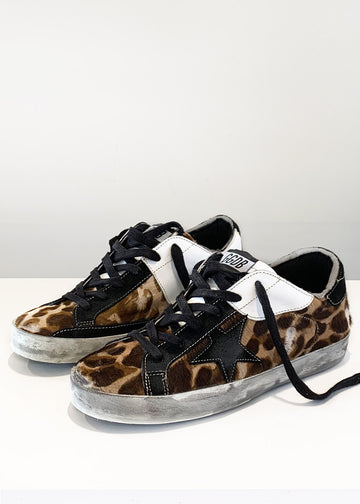 Golden Goose S11 Leopard Superstar