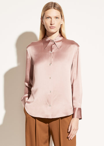 Vince Shaped Collar Blouse
