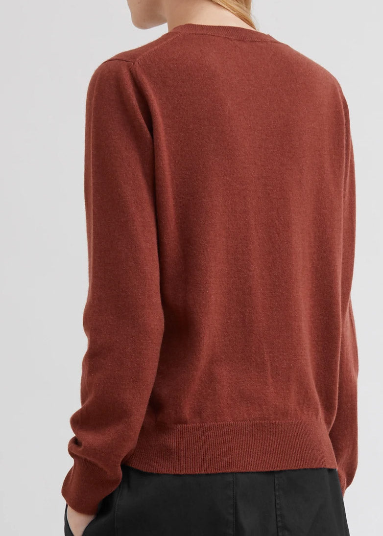 Margaret Howell Simple Crew Neck Cashmere