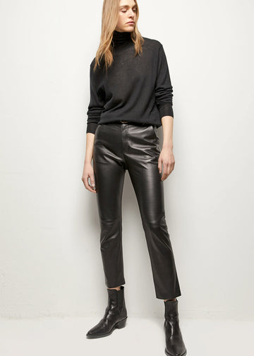 Nili Lotan Montauk Leather Pant