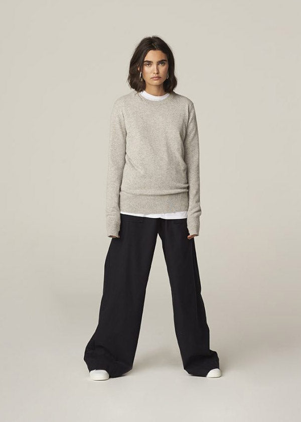 H Brand x Theron Aerin Cashmere Crew
