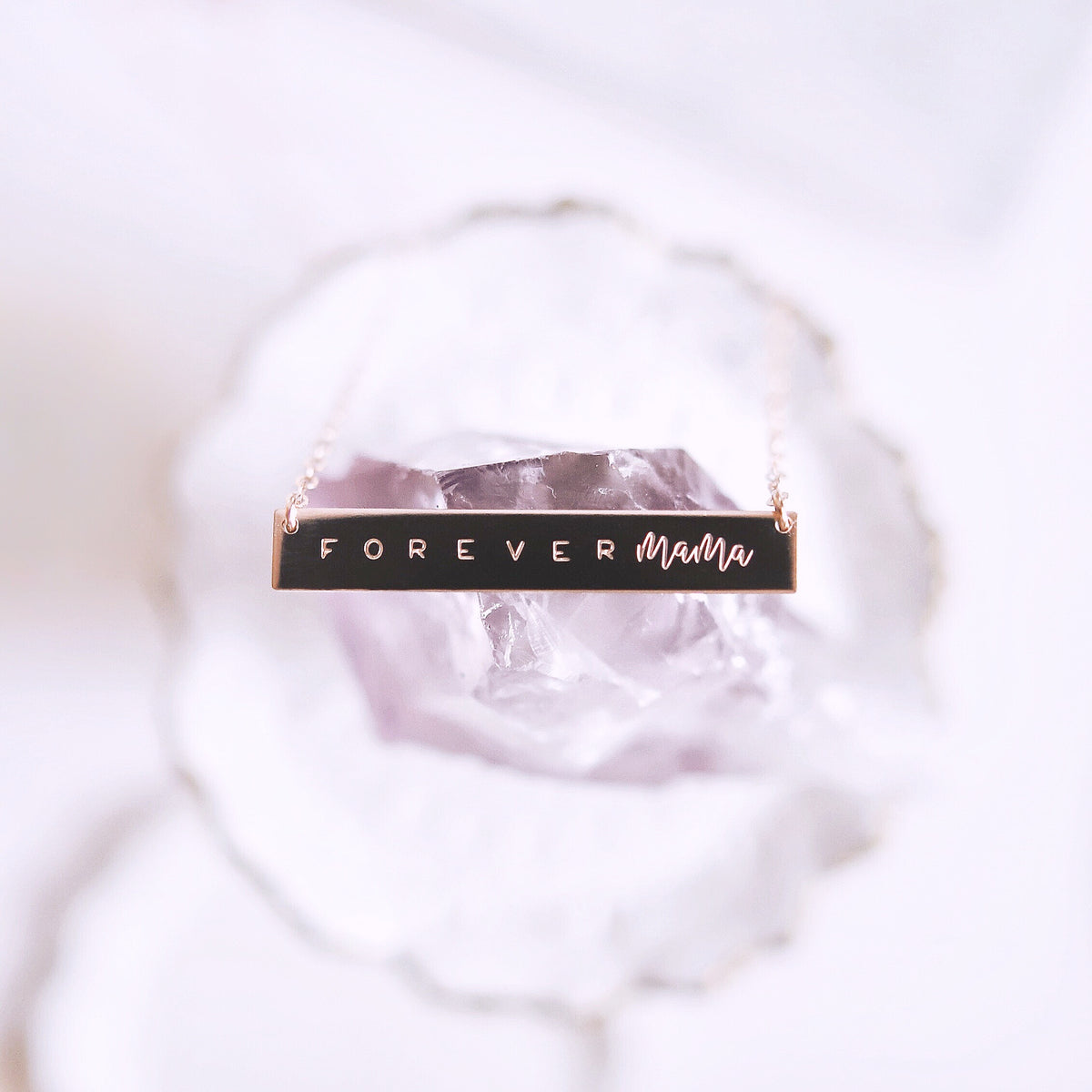 FOREVER Mama ®  Bar Necklace