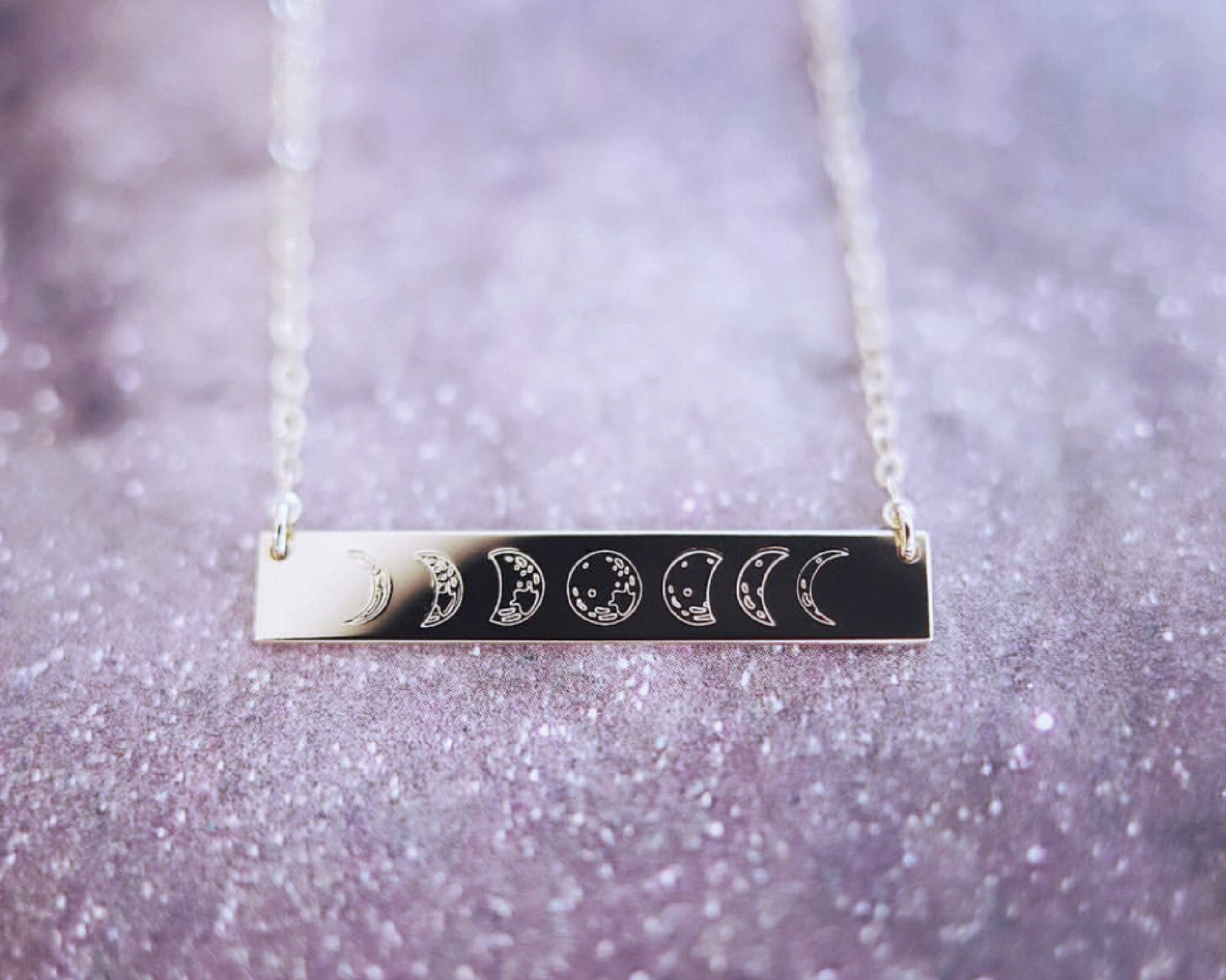 Moon Phase Bar DAINTY |CUSTOM|