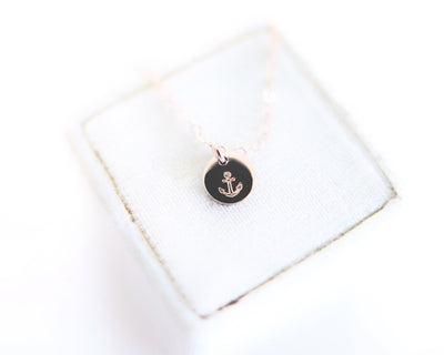 Dottie Disc Necklace