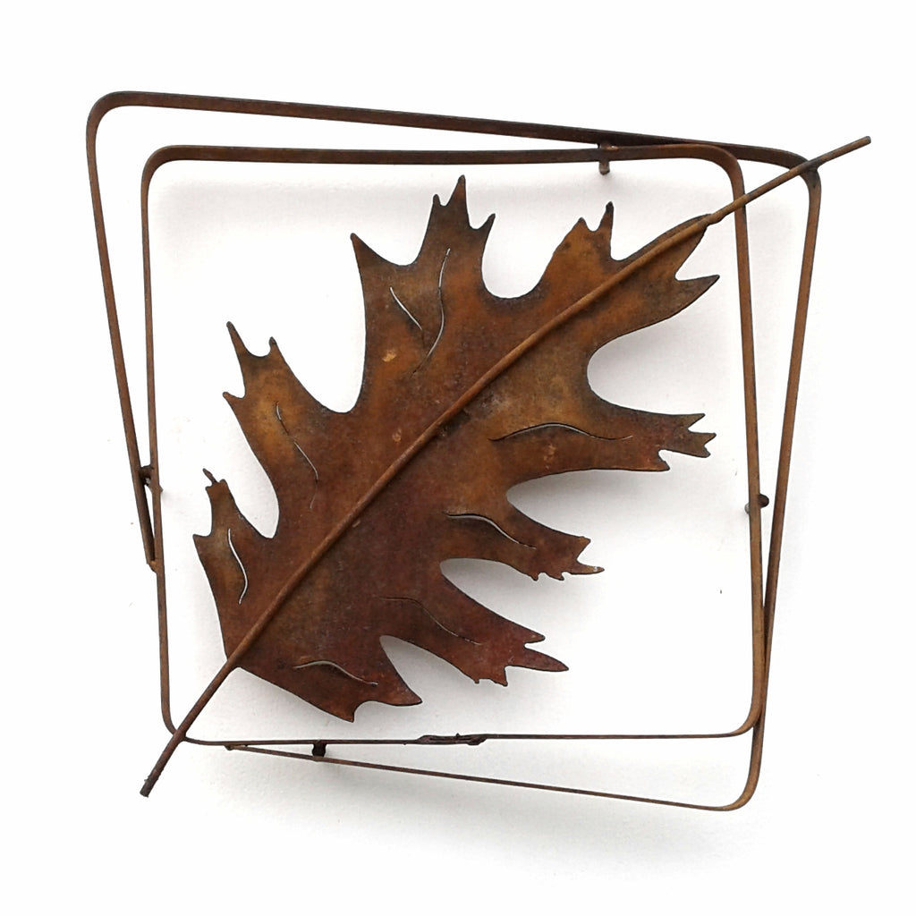 Red Oak Leaf Frame