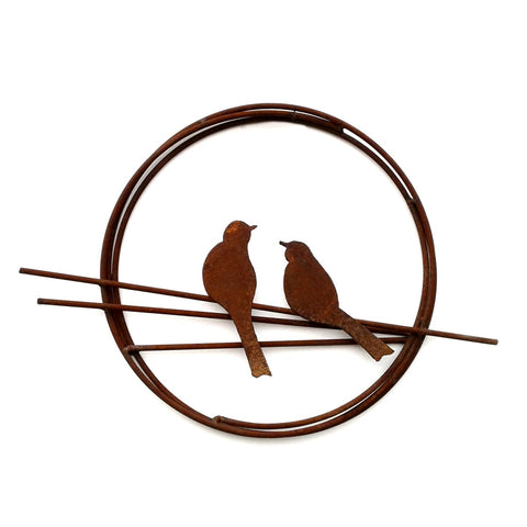 Bird Ring, rust