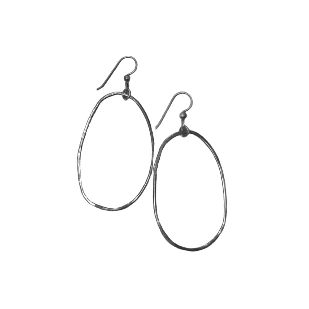 Lg Ring Earrings, single