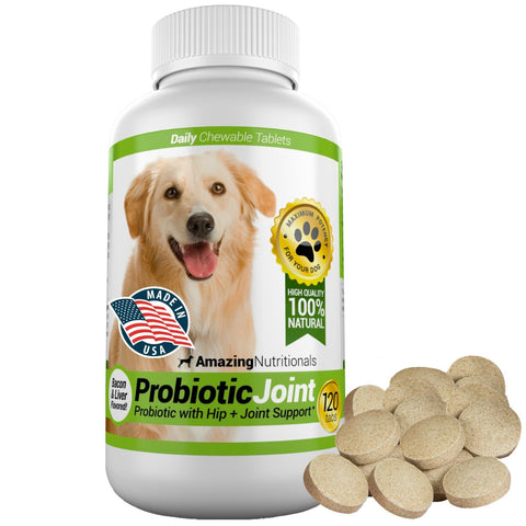 Amazing Probiotic Joint for Dogs - Eliminates Digestive and Joint Problems