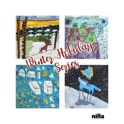 Winter Greeting Cards 4 Pack