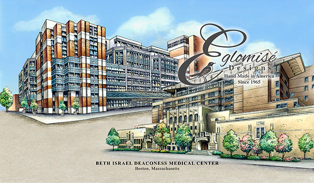 Beth Israel Deaconess Medical Center Eglomise Designs