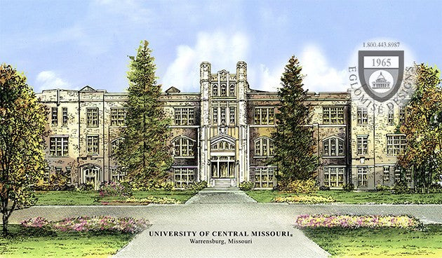 University Of Central Missouri >> University Of Central Missouri Eglomise Designs