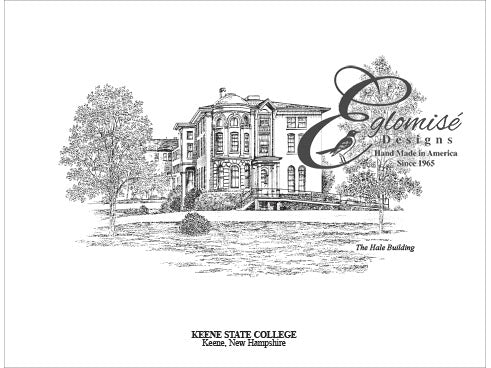 Keene State College Hale Building Antique Eglomise Designs