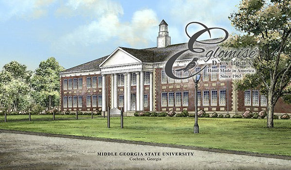 Middle Georgia State University >> Middle Georgia State University Eglomise Designs