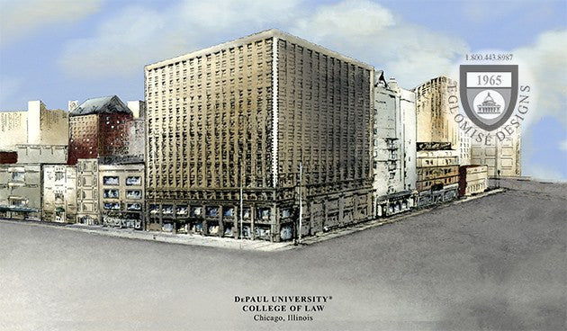 DePaul University College of Law - Eglomise Designs