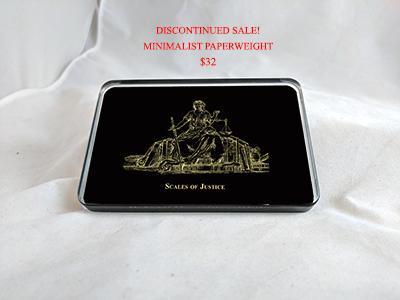 comemorative glass paperweight graduation gift reverse painted glass