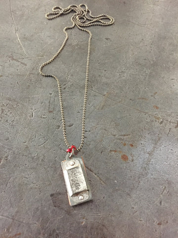 Vintage Mini Harmonica Necklace