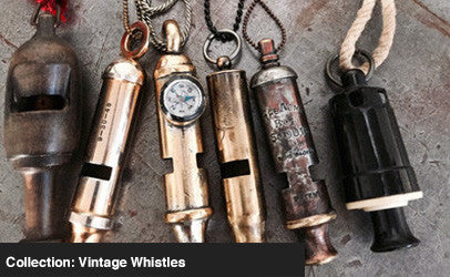 COLLECTION: VINTAGE WHISTLES
