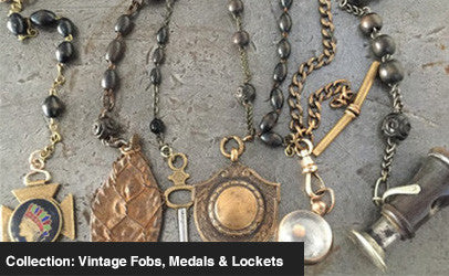 COLLECTION: FOBS, MEDALS & LOCKETS