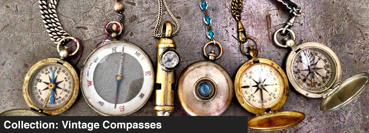 COLLECTION: VINTAGE COMPASSES