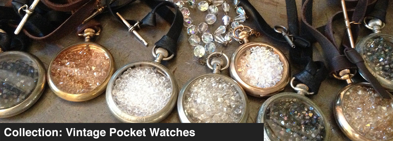 COLLECTION: VINTAGE POCKET WATCHES