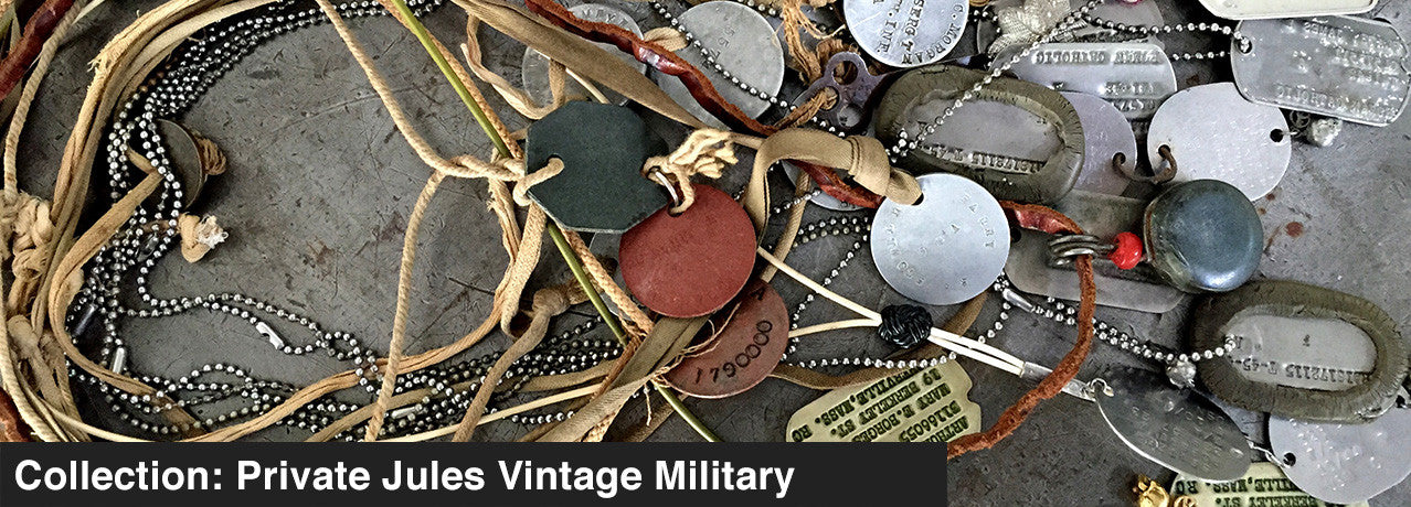 COLLECTION: PRIVATE JULES VINTAGE MILITARY