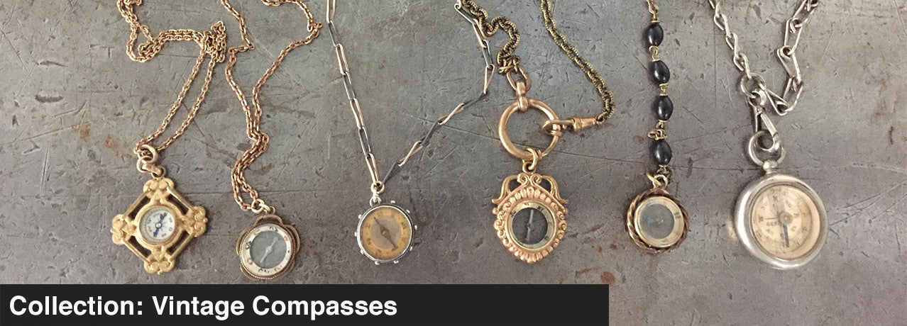 COLLECTIONL: VINTAGE COMPASSES