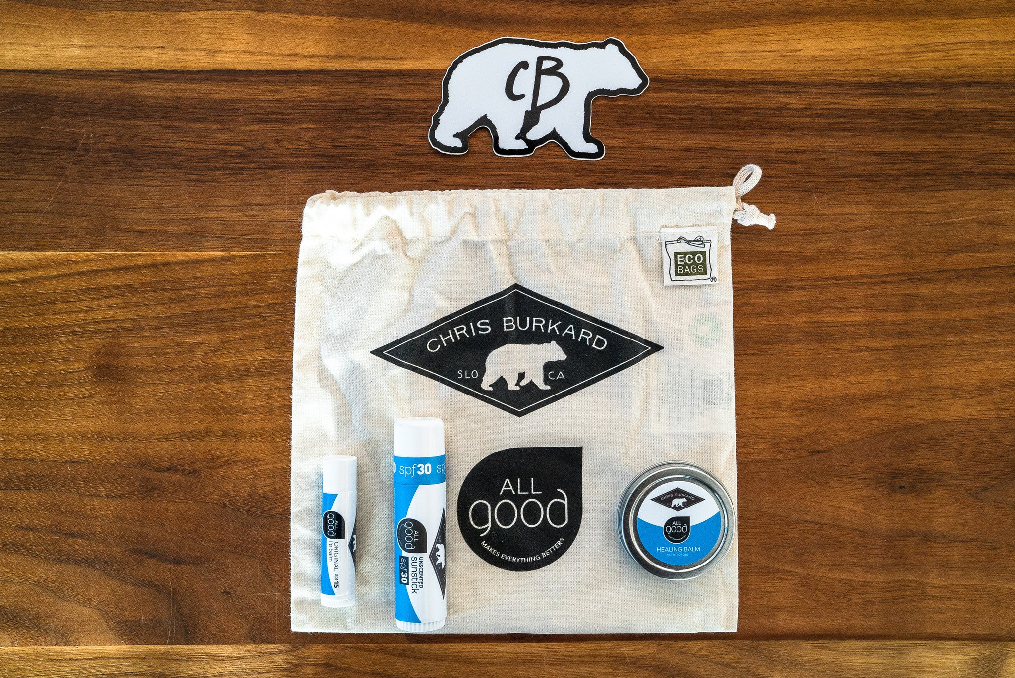Chris Burkard x All Good Essentials Kit Bag