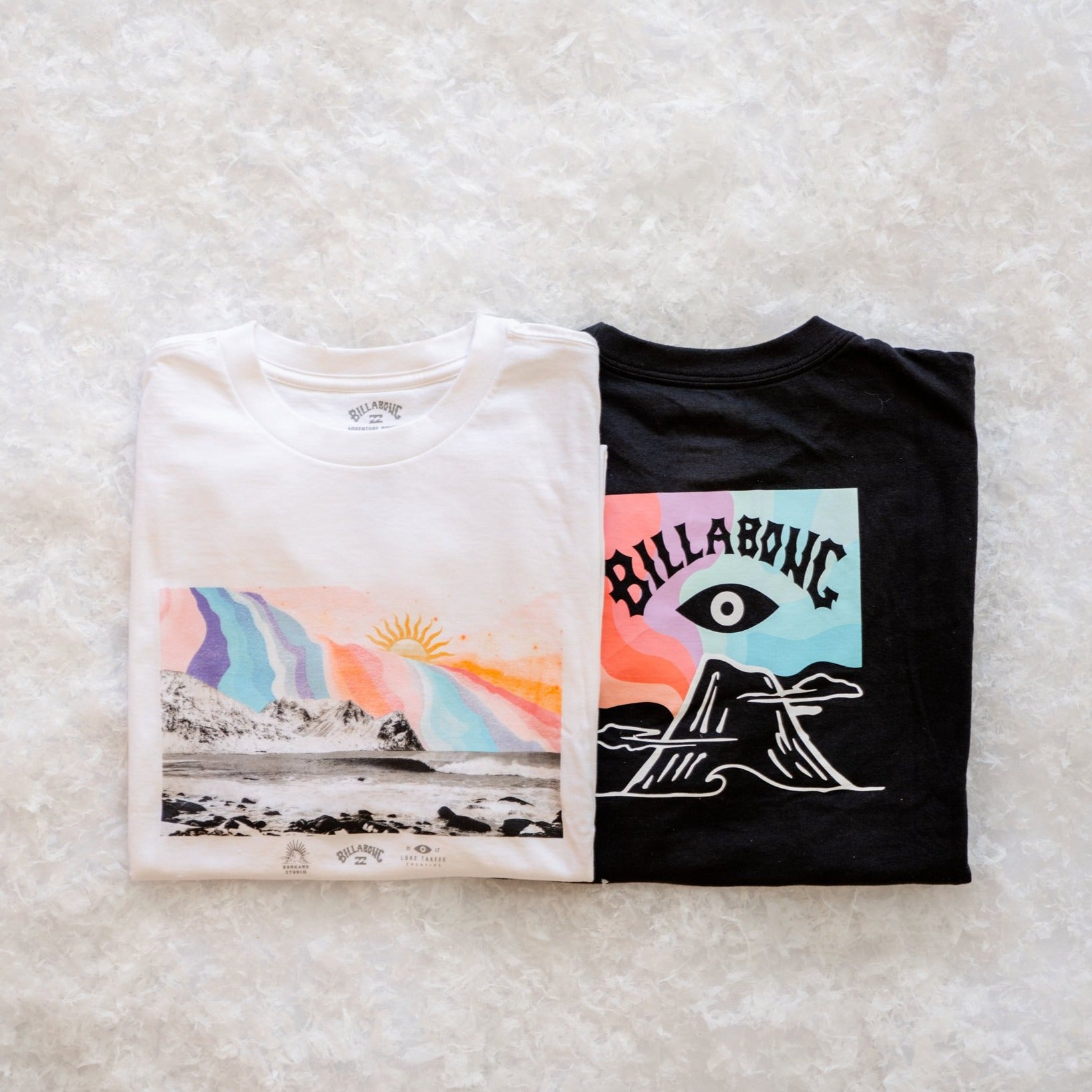 BILLABONG VOLCANO T-SHIRT BLACK