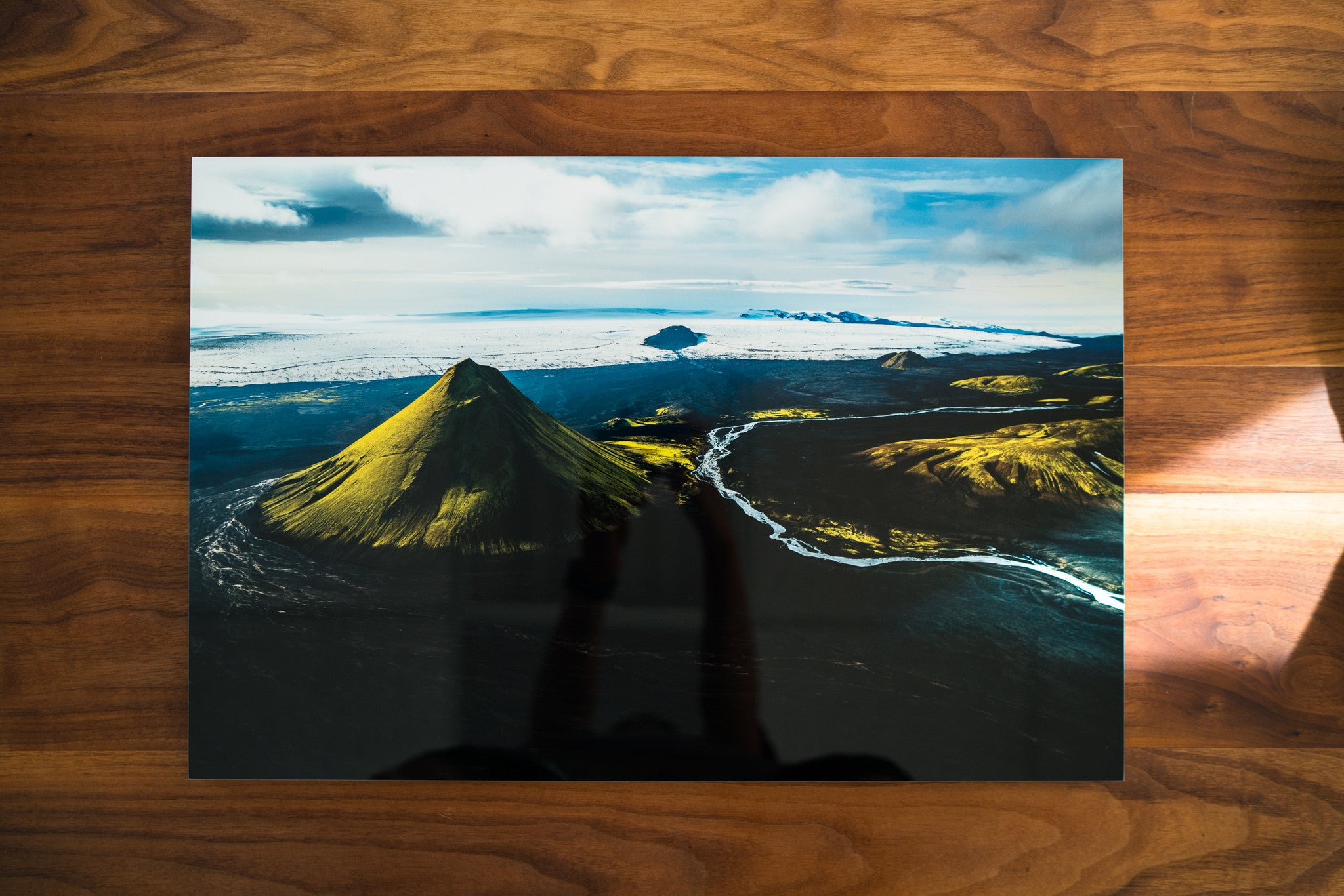 Iceland Mountain Aerial