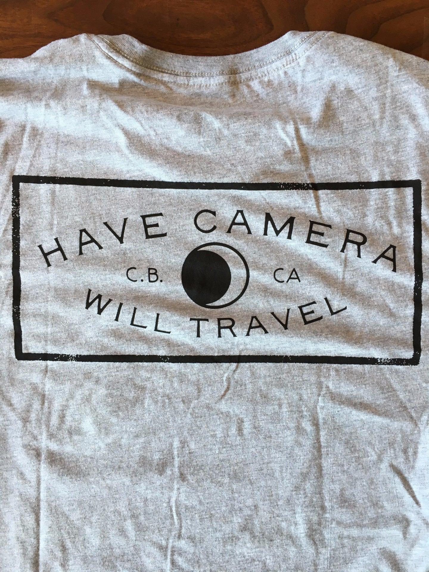 "CB ""Have Camera Will Travel"" T-Shirt"