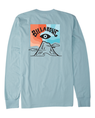 BILLABONG VOLCANO BLUE LONG SLEEVE TEE