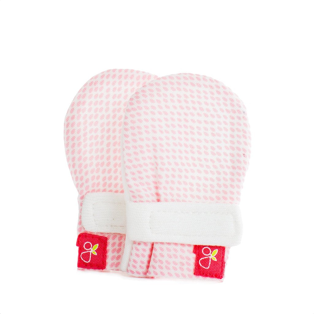 Goumikids Mitts Preemie - Drops Pink
