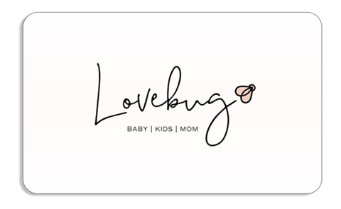 Gift Card from Love Bug Baby