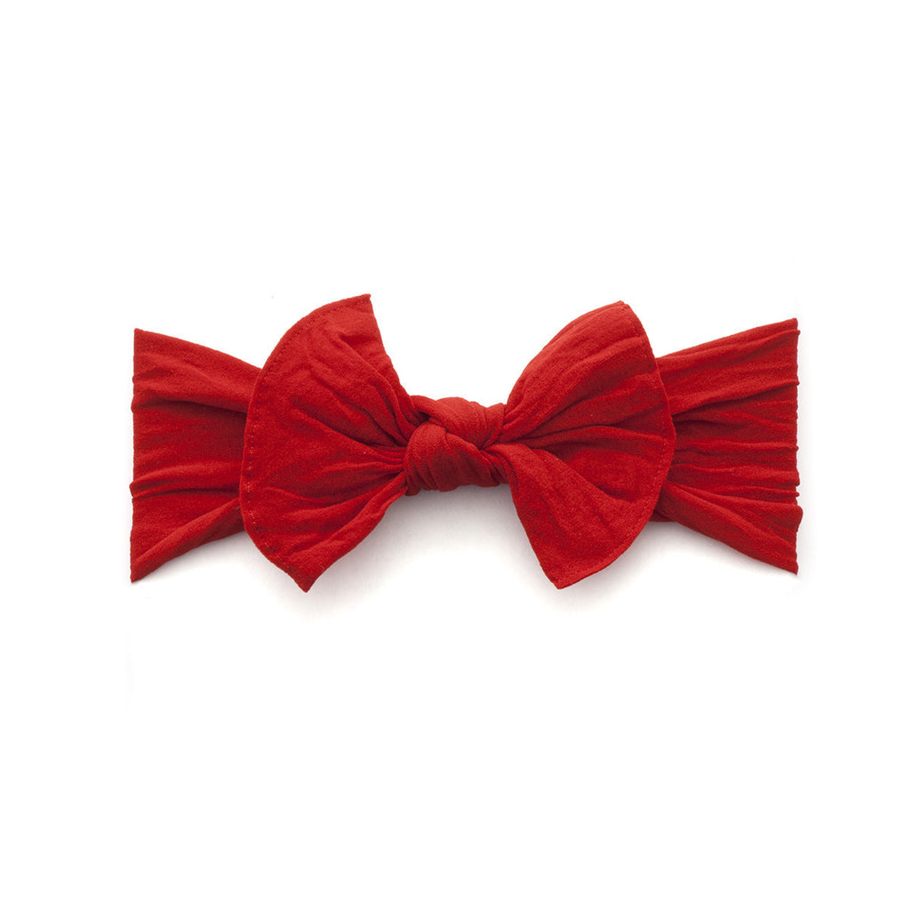 Baby Bling Knot Headband - Cherry