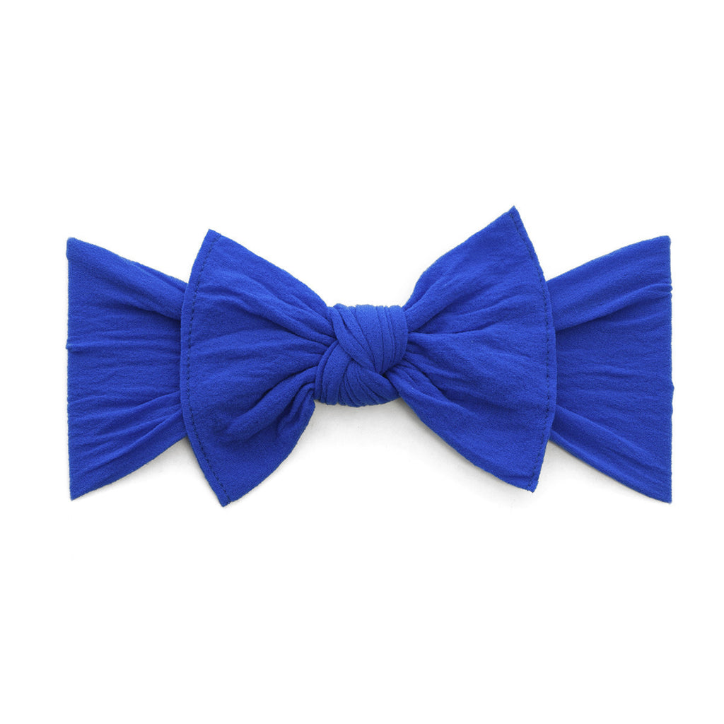 Baby Bling Knot Headband - Royal