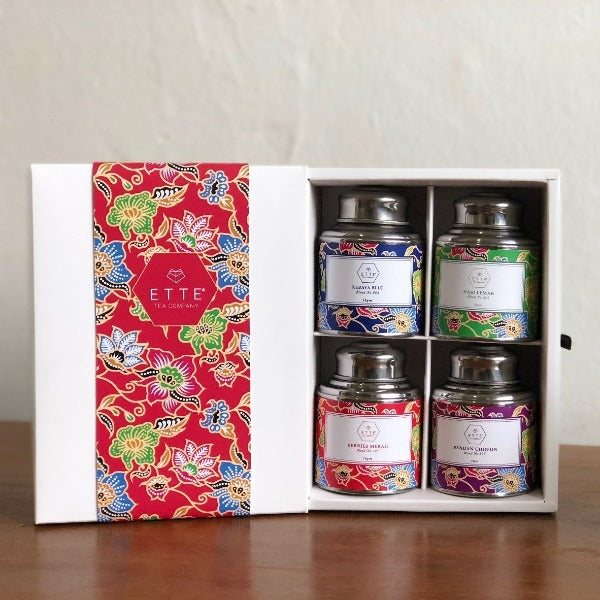 Kebaya Series - Singapore Tea Blend Collection ( 4 in 1)