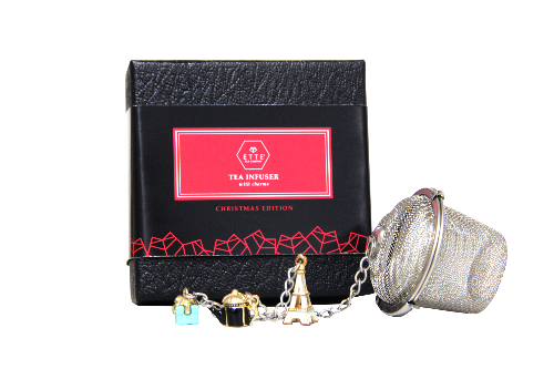Tea Infuser with Charms - Paris Edition