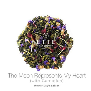 The Moon Represents My Heart (with Carnation)
