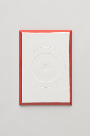 Square Plate - Red