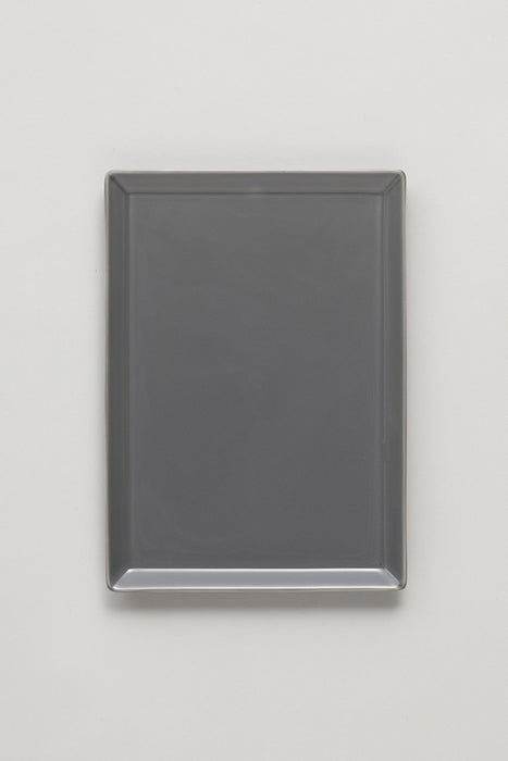 Square Plate - Gray