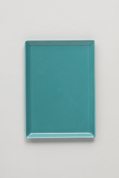 Square Plate - Green