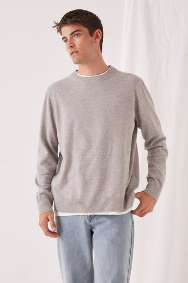 Anders Knit - Grey Marle