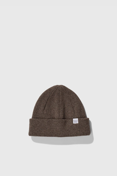 Light Wool Beanie - Ivy Green
