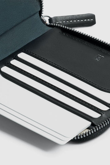 Zip Wallet Premium Edition - Black