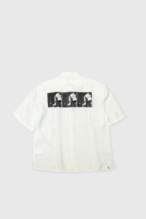 SS Bleach Brain Shirt - Off White