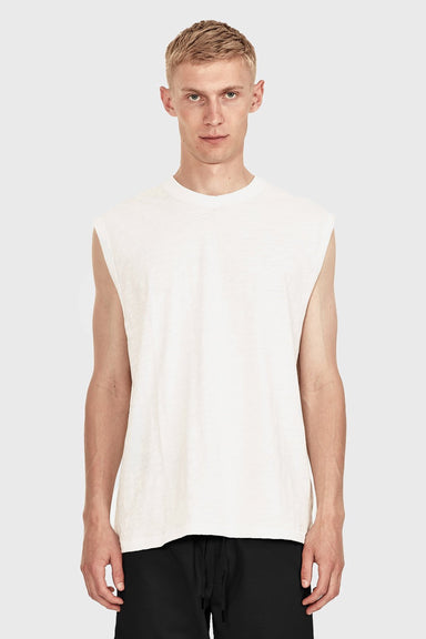 Men's Relaxed Tank - Vintage White